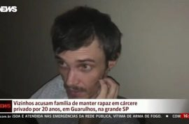 How? Armando de Andrade Brazilian man tied to a bed in basement for 20 years