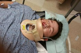 Hate crime? Brian Ogle beaten after pro cop stance