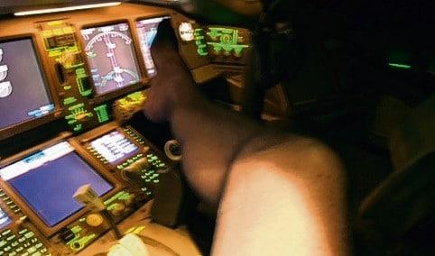 Colin Glover British Airways pilot
