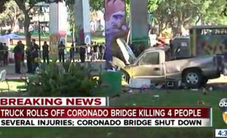 San Diego Coronado Bay Bridge crash