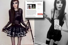 Is Eugenia Cooney video blogger promoting anorexia? Petition to ban her builds