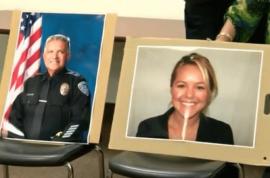 20 gunshots: Jose Gilbert Vega and Lesley Zerebny Palm Springs cops killed. Fugitive sought