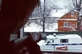 Watch: 15 year old Russian boy and girl livestream police shoot out before killing themselves