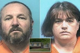 55 pounds: Richard and Cynthia Kelly arrested after isolating adopted teen son in basement for 2 years