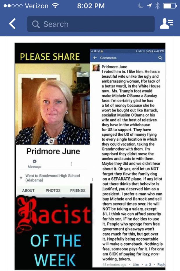 June Pridmore