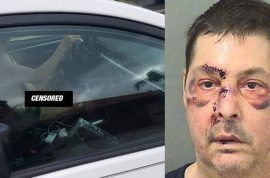 'Want to look?' Kurt Allen Jenkins drives around with wires attached to penis