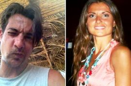 Paolo Pietropaolo Italian jilted boyfriend sets pregnant girlfriend, Carla Caiazzo on fire