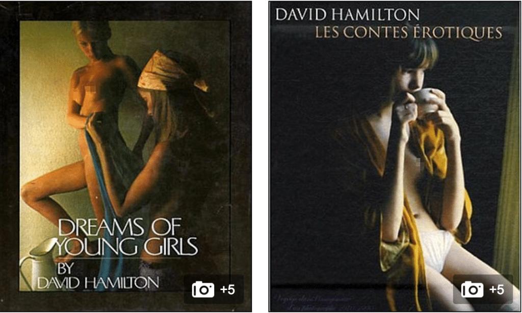 David Hamilton photographer suicide