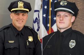Photos: Sgt Anthony Beminio and Urban Police Officer Justin Martin i'd as Scott Michael Greene victims