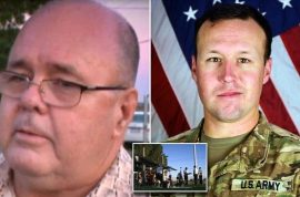 Free speech? Army Sgt. John Perry family booed on American Airlines bringing body home