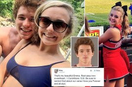 William Riley Gaul shoots dead Emma Walker his cheerleader girlfriend, laments her death on twitter
