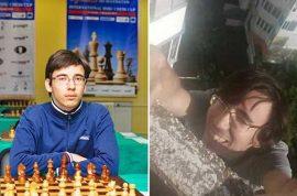 Yuri Eliseev Russian teen chess grandmaster dies in parkour plunge