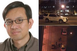 Why did Jonathan David Brown stab Bosco Tjan USC professor?