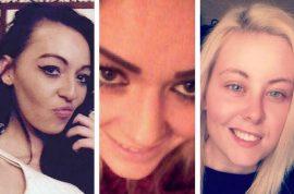 Photos: Brogan Gillard, Paige Cunningham and Shannon Jones sexually assault UK man