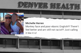 'Monkey face' Dr Michelle Herren Colorado doctor to be fired over racist Michelle Obama Facebook post