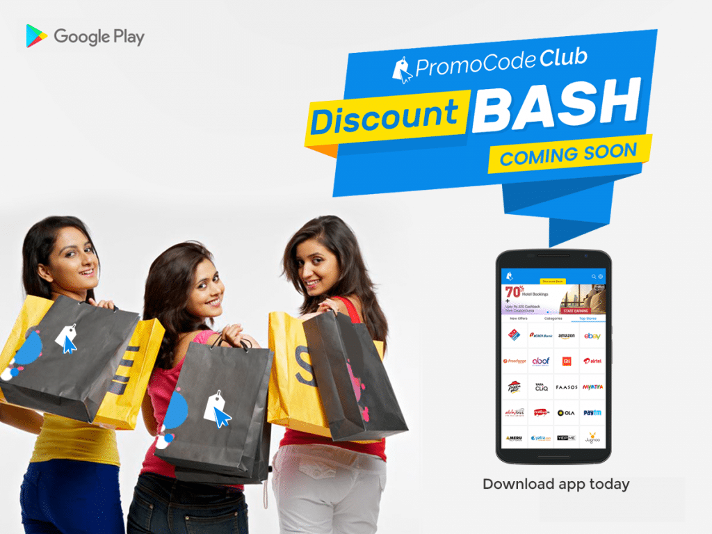 E-commerce Apps & Discount Bash sites