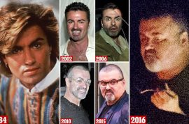 George Michael weight gain: How he became a recluse.