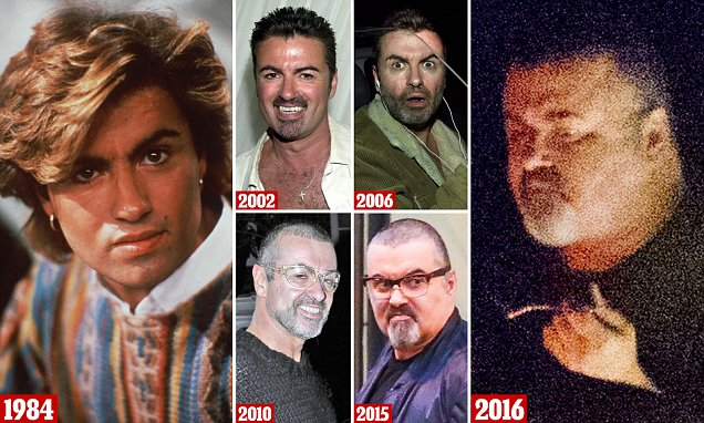 George Michael weight gain
