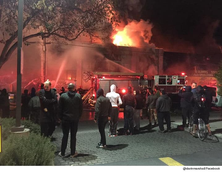 Rave Cave Oakland nightclub fire