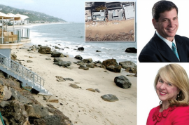 $1017 a night: Warren and Henny Lent Malibu beach owners fined $4.2m for blocking beach access