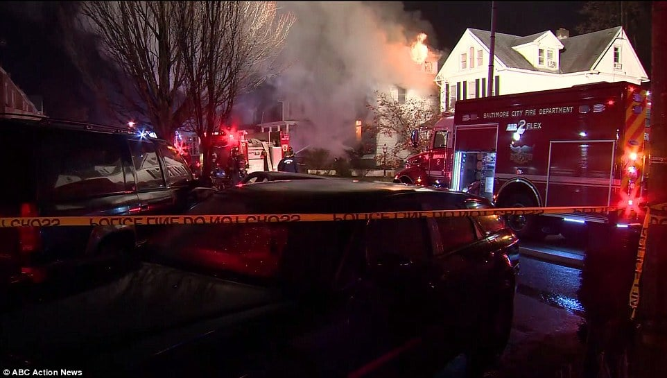 Katie Malone Baltimore house fire
