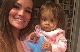 Kiersten Miles NJ babysitter donates part of liver to save baby she cares for