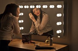 How to Enhance Your Makeup Mirror with Lights
