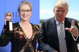 Meryl Streep Golden Globes hypocritical Donald Trump speech: 'Poor rich white girl'