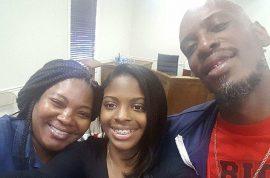 'Tears of joy' Shanara Mobley and Craig Aiken meet missing daughter Kamiyah Mobley