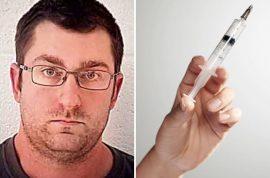 Timothy Blake semen syringe squirter: How I followed women around Walmart and pretended I was dating them.