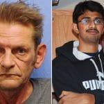 Pictured, Adam Purinton and his fatal victim, Srinivas Kuchibhotla