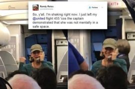 'You don't feel safe?' United Airlines pilot removed from flight following divorce and Donald Trump rant
