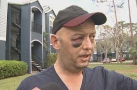 Gary Blough navy veteran beaten by three thugs torturing turtle when he asks them to stop