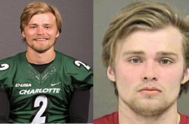 3 chances: Kevin Olsen Charlotte quarterback arrested raping, cyberstalking brother's girlfriend