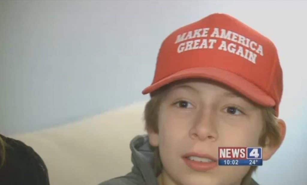 Make America Great Missouri sixth grader attacked on school bus