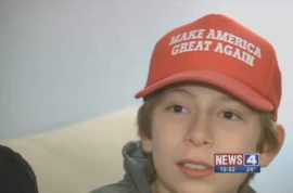 Gavin Cortina suspended for wearing 'Make America Great Again' baseball cap