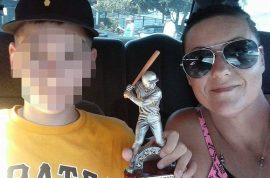 Michael Whidden Florida teen charged with murder after mom's boyfriend threatened to kill her