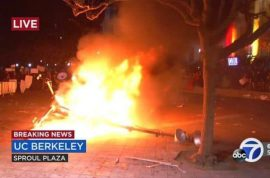 Free speech? Milo Yiannopoulos Berkeley protests lead to talk cancelled