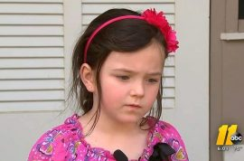 5 year old North Carolina girl suspended from kindergarten for playing with stick that looked like gun