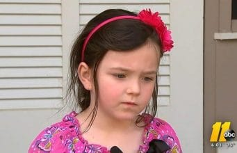 5 year old North Carolina kindergarten girl suspended