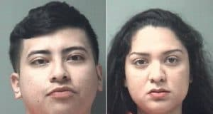 Andres Arturo Villagomez and Karinthya Sanchez Romero