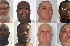 Arkansas executions: seeking volunteers to witness botched lethal injections