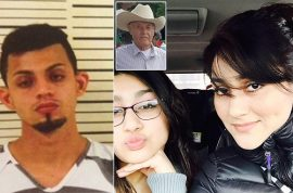 'I love you' Carlos Hernandez Ventura kills girlfriend with machete, daughter and landlord