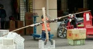 Chinese father crucifies ten year old son