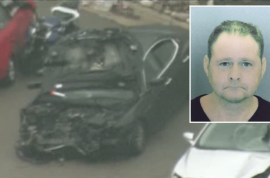 Gregory Allen Belkin crashes 144mph Maserati kills mom starts laughing