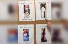 Jacksonville High School 'good girl' prom dress guide: are you a slut?