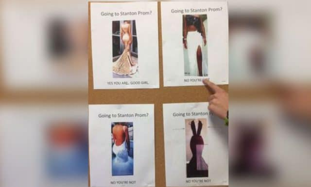 Jacksonville High School good girl prom dress guide