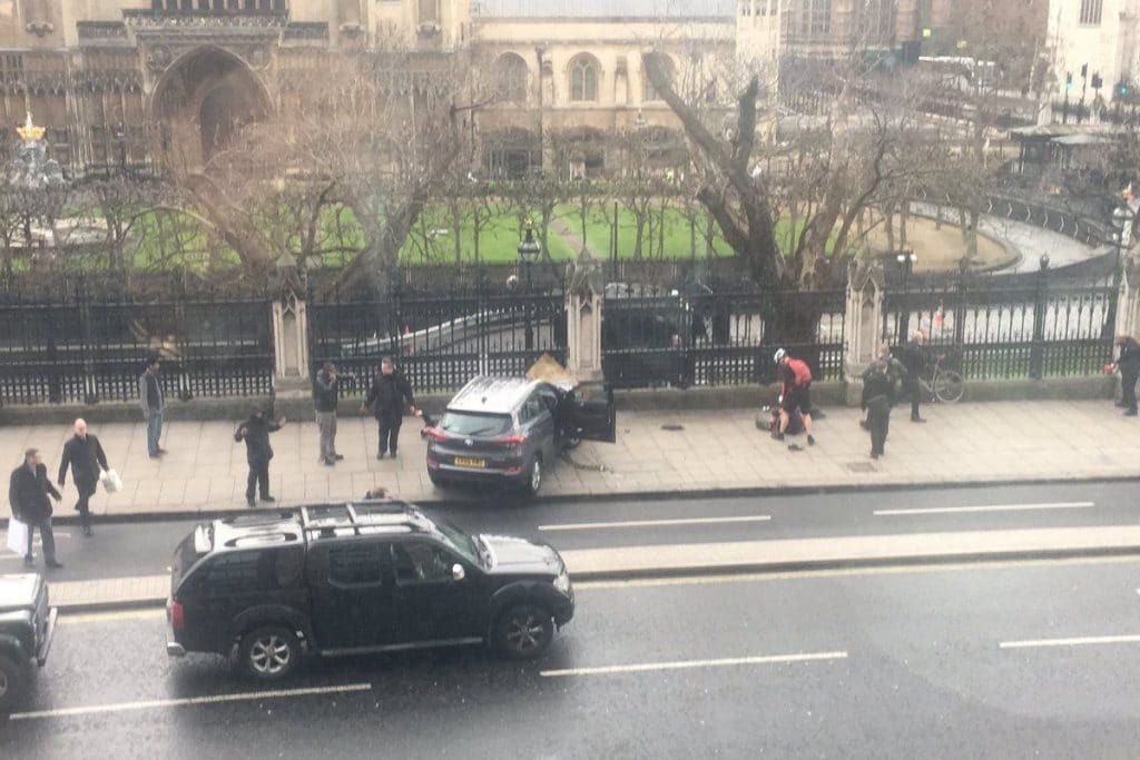 London Westminster Parliament terrorist attack