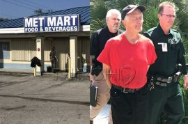 Richard Lloyd sets fire to Florida convenience store cause he thought it was Muslim