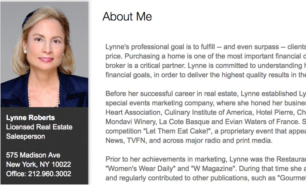Lynne Roberts Douglas Elliman broker